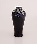 Tiffany Favrile Glass <br> Rare Decorated Mirrored Vase