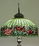 Tiffany Studios <br> Peony Border Floor Lamp