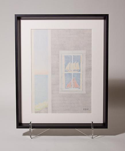 Charles E. Martin <br>Boats in Window 2