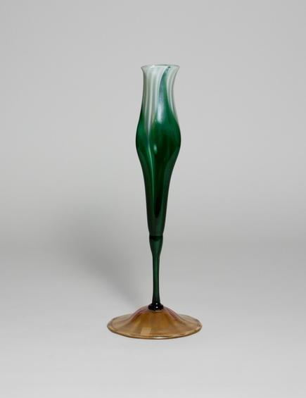 Tiffany Favrile Glass <br> Calyx Flower Form Vase 3