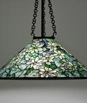 Tiffany Studios <br> Clematis Hanging Shade