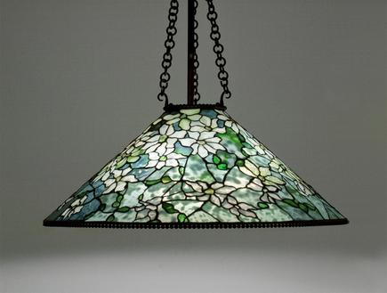 Tiffany Studios <br> Clematis Hanging Shade 2