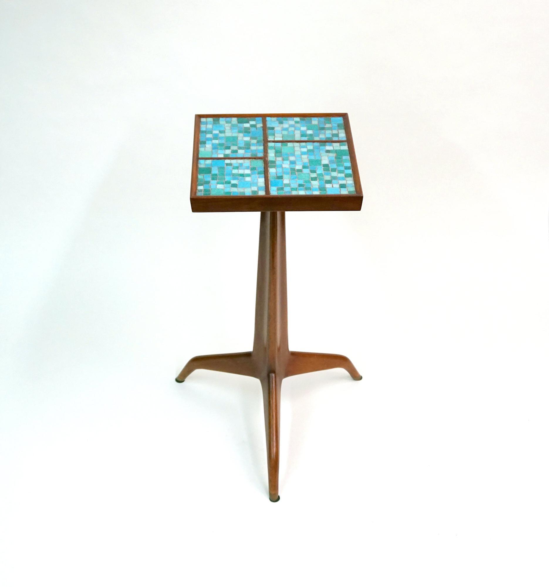 Edward Wormley for Dunbar  Janus Tripod Side Table 1