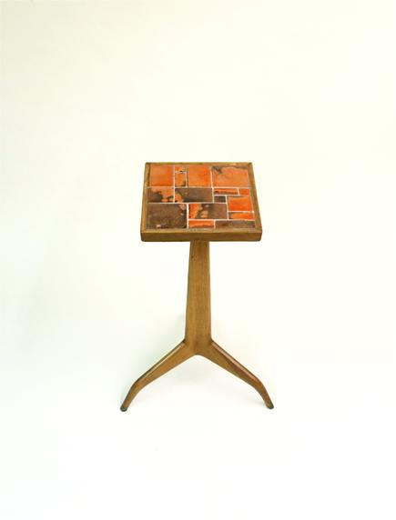 Edward Wormley for Dunbar  Janus Tripod Table 2