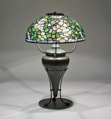 Tiffany Studios <br> Dogwood Table Lamp 1