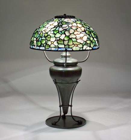 Tiffany Studios <br> Dogwood Table Lamp 3