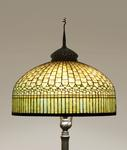 Tiffany Studios <br> Curtain Border Floor Lamp