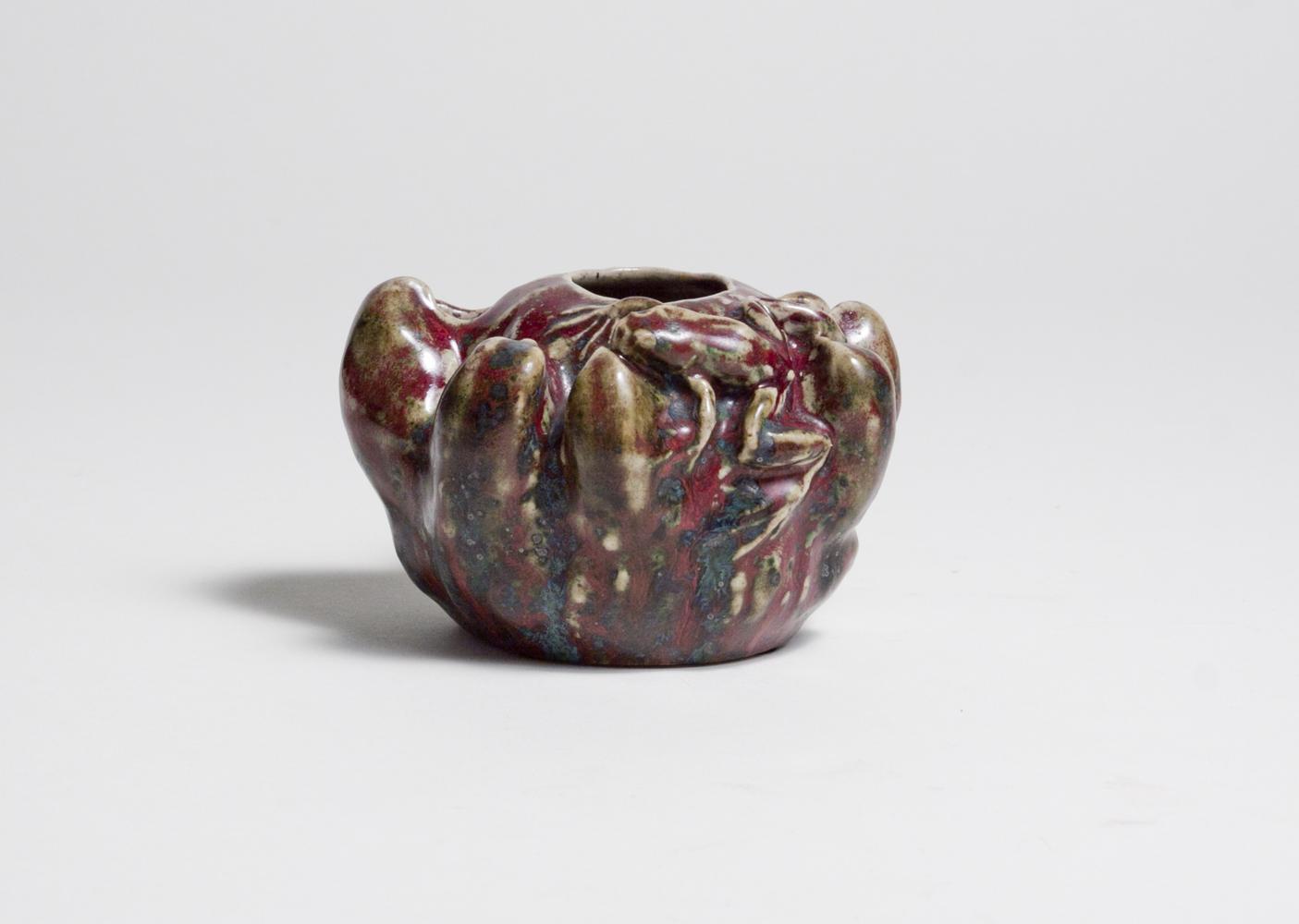 Pierre-Adrien Dalpayrat  Vase with Frog 1