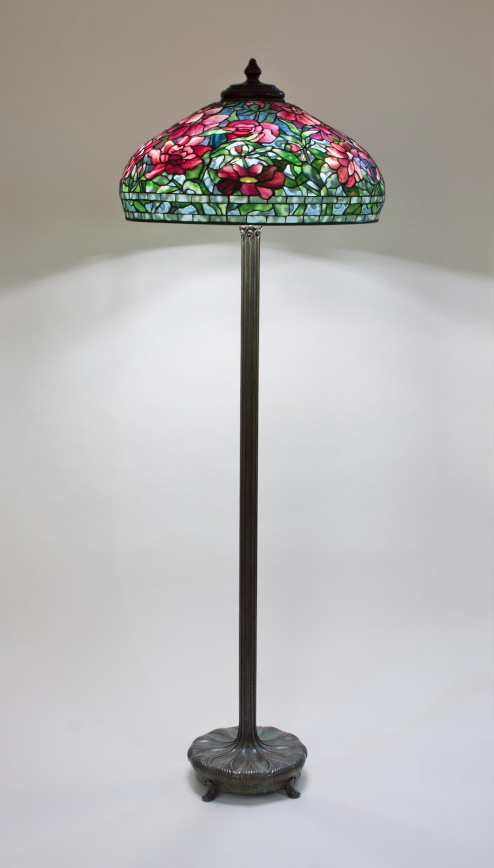 Tiffany Studios  Peony Junior Floor Lamp 2