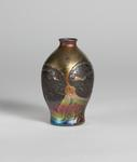 Tiffany Favrile Glass <br> Decorated Cypriote Vase