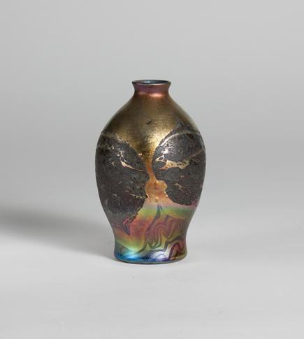 Tiffany Favrile Glass <br> Decorated Cypriote Vase 1