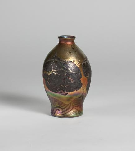 Tiffany Favrile Glass <br> Decorated Cypriote Vase 2