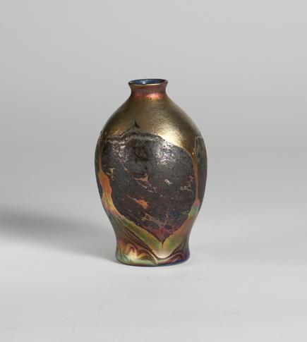 Tiffany Favrile Glass <br> Decorated Cypriote Vase 3