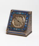 Tiffany Studios <br> Enameled Desk Clock