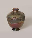 Tiffany Favrile Glass &lt;br&gt; Early Decorated Cypriote Vase