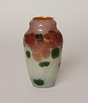 Tiffany Favrile Glass <br> Decorated Paperweight Vase
