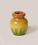 Tiffany Favrile Glass <br> Decorated Cased Vase