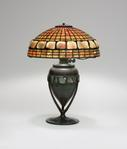 Tiffany Studios <br> Dichroic Turtle Back Table Lamp