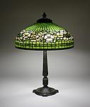 Tiffany Studios <br> Dogwood Border Table Lamp