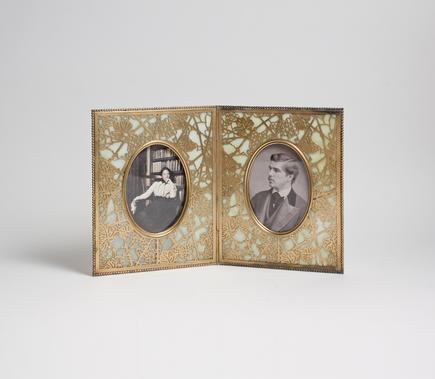 Tiffany Studios  Double 'Grapevine' Picture Frame 1