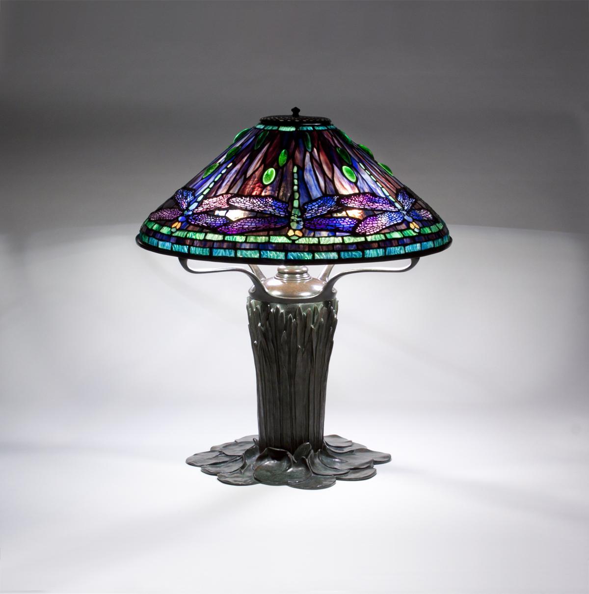 Tiffany Studios  Dragonfly Table Lamp 2