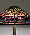 Tiffany Studios <br> Dragonfly Floor Lamp