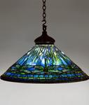 Tiffany Studios <br> Hanging Dragonfly Shade
