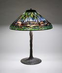 Tiffany Studios <br> Dragonfly Table Lamp