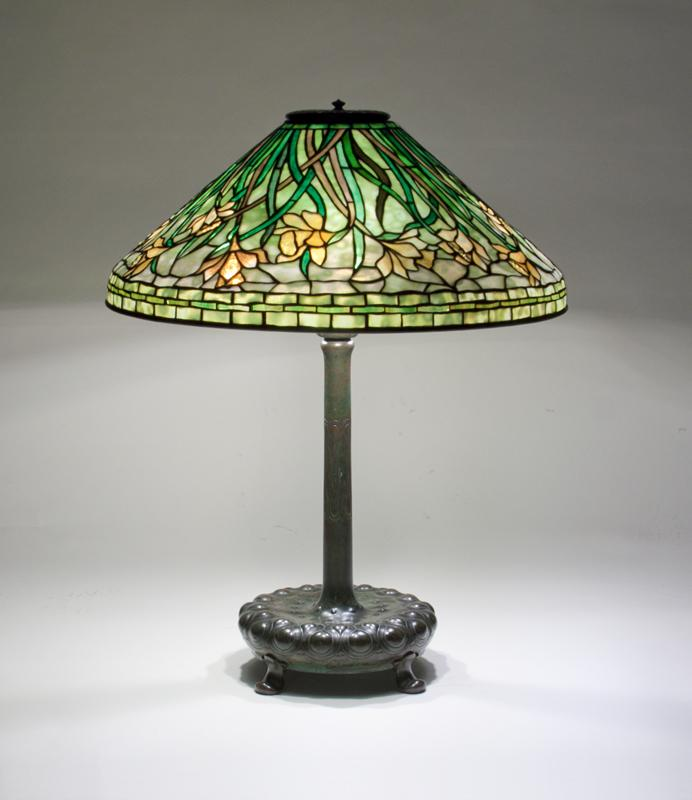 Tiffany Studios  Early Daffodil Table Lamp 1