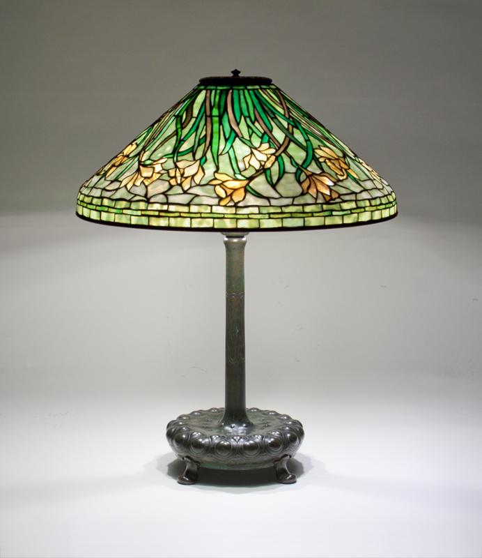 Tiffany Studios  Early Daffodil Table Lamp 2
