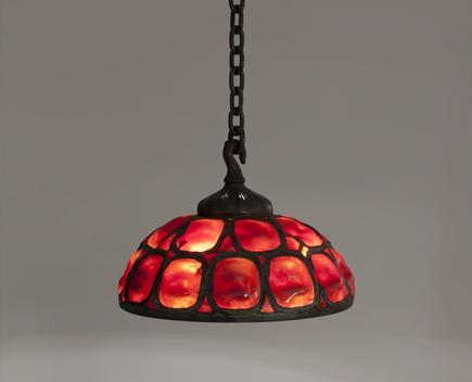 Tiffany Studios <br> Hanging Turtle Back Shade 1