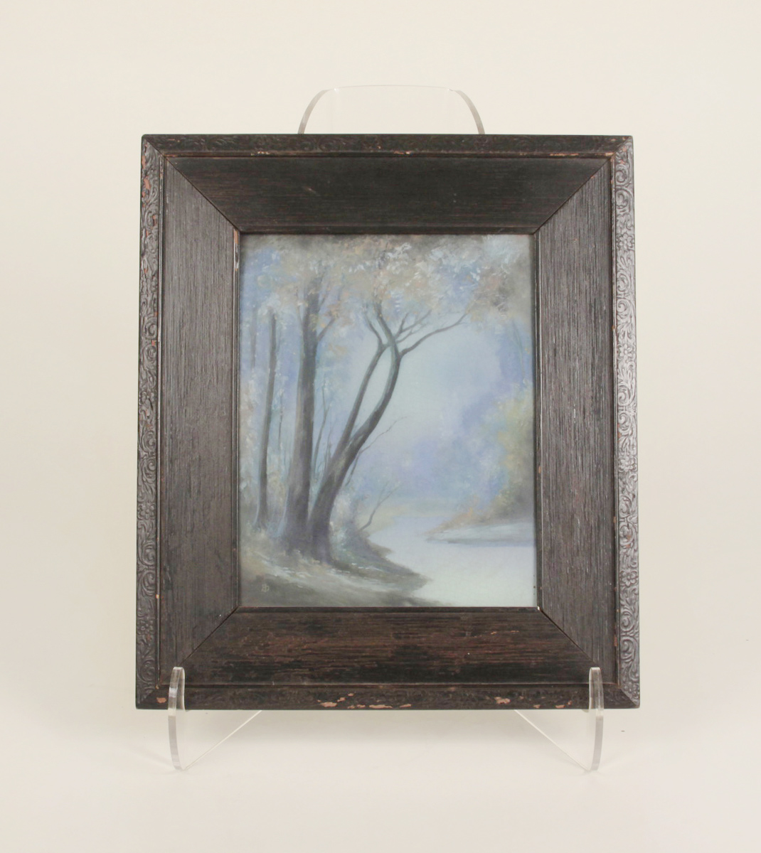 Ed Diers for Rookwood Pottery  Scenic Vellum Plaque 1