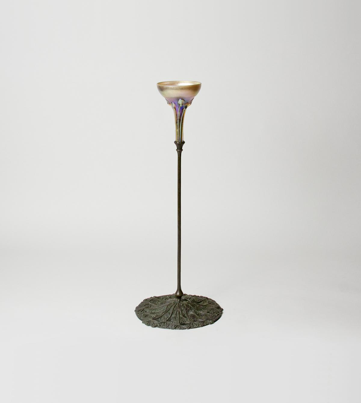 Tiffany Studios  Queen Anne's Lace Candlestick 1