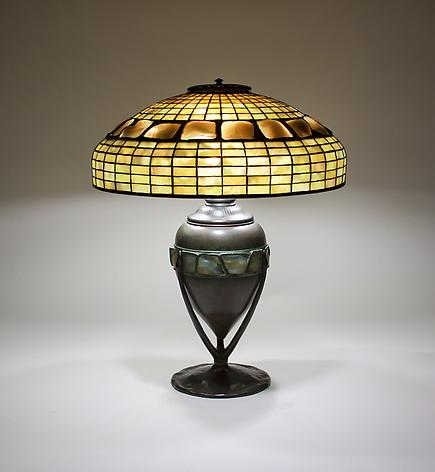 Tiffany Studios  Turtle Back Table Lamp 1