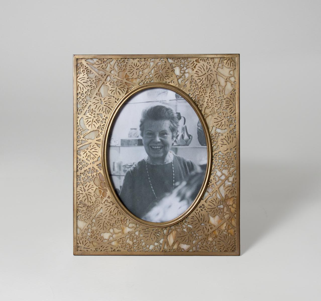 Tiffany Studios  Grapevine Picture Frame 1