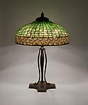 Tiffany Studios <br> Greek Key Lamp