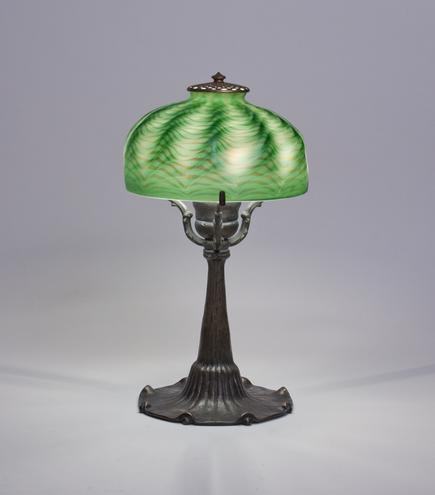 Tiffany Studios <br> Blown Glass Desk Lamp 2