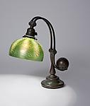 Tiffany Studios <br> Damascene Counter-Balance Desk Lamp
