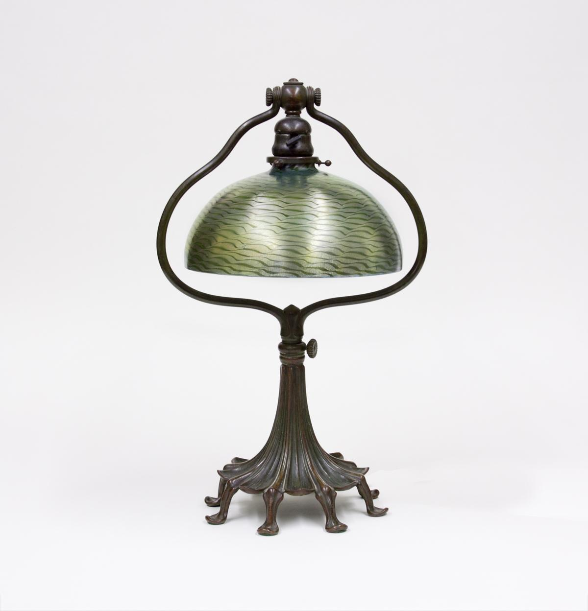 Tiffany Studios  Harp Desk Lamp 2