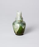 Tiffany Favrile Glass <br> Cabinet Double Gourd Vase