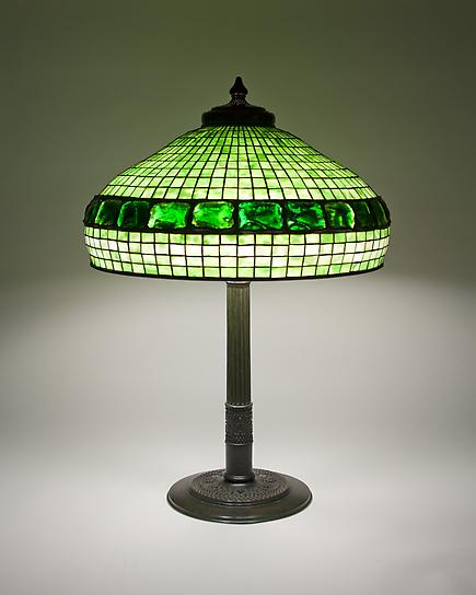 Tiffany Studios <br> Turtle Back Table Lamp 1
