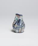 Gudrun Baudisch <br> Vase with Cityscape Motif