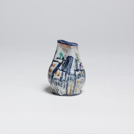 Gudrun Baudisch  Vase with Cityscape Motif 1
