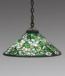 Tiffany Studios <br> Hanging <i>Dogwood</i> Shade