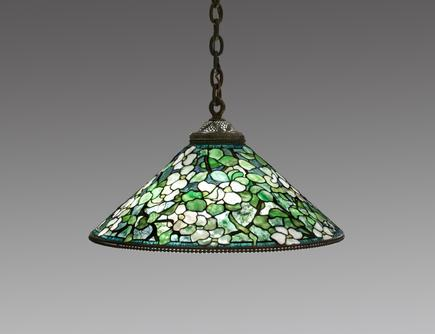 Tiffany Studios <br> Hanging <i>Dogwood</i> Shade 1