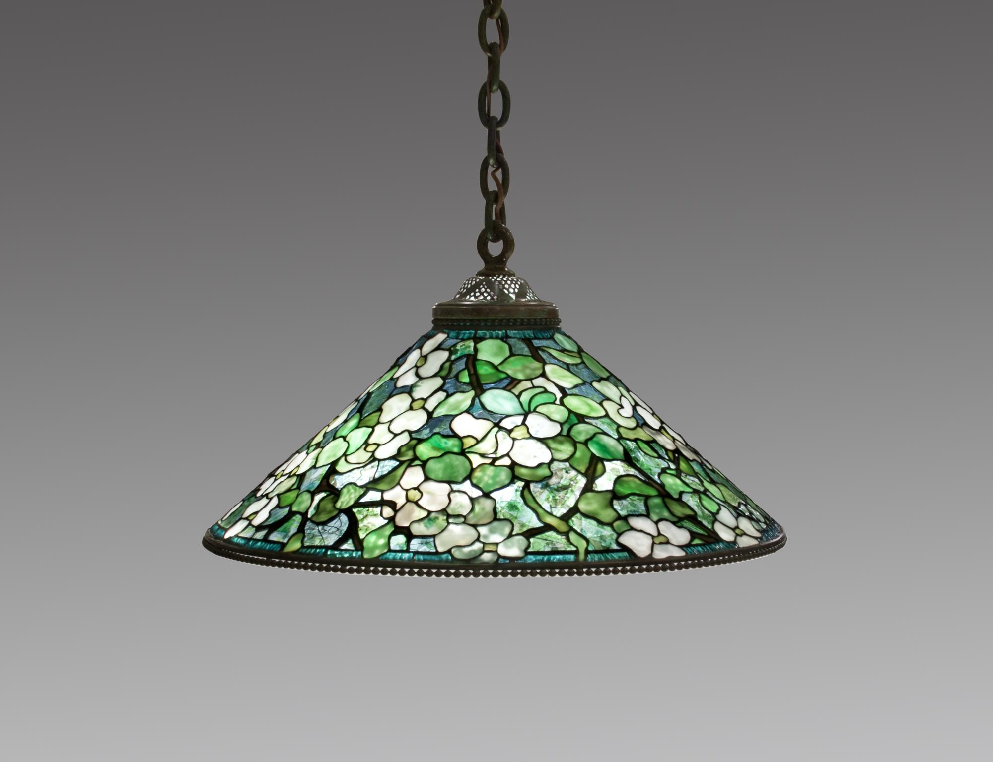 Tiffany Studios  Hanging Dogwood Shade 1