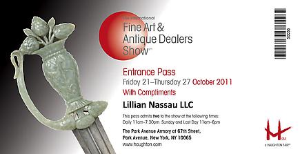 The 2011 International Fine Arts and Antique Dealers Show 3