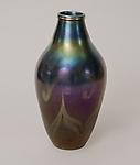 Tiffany Favrile Glass &lt;br&gt; Decorated Iridescent Vase