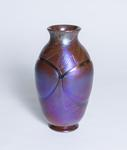Tiffany Favrile Glass  Blown Out Vase