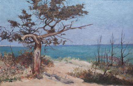 Louis Comfort Tiffany <br> <i>Seascape</i> 2